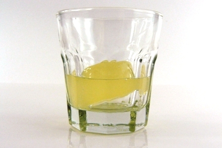 lemon drop jelly shot