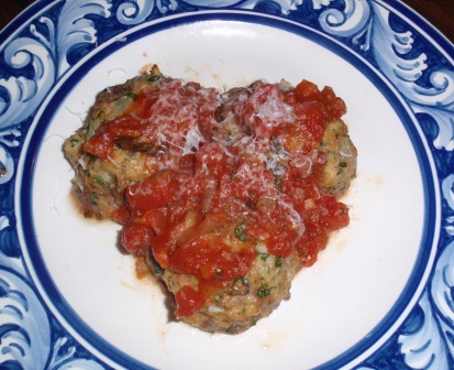 meatballs with Toscano sauce