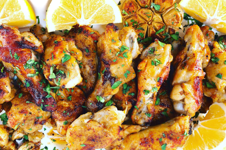 piri-piri chicken wings